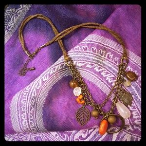 American eagle vintage necklace